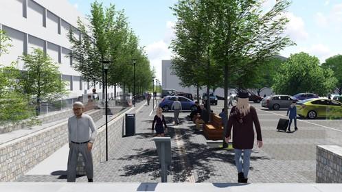 Meepraten over inrichting van het Raadhuisplein in Bussum