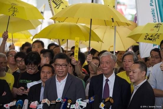Celstraffen voor leiders Occupy Hongkong