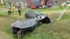 Twee gewonden en veel schade bij ongeluk in Venhuizen