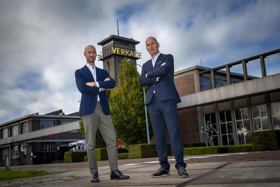 Fabian van Schie en Erik van Nunen van Verkade.