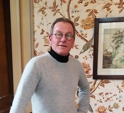 Jan Koks, ofwel Jan Beeckestijn, is helemaal thuis in 't Museumhuis in Velsen-Zuid