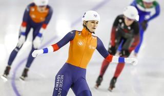 Irene Schouten pakt goud op massastart
