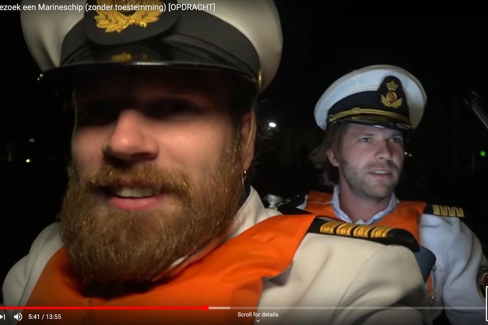 Beelden van de youtube-video van StukTV.