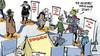 Potloden ontsmetten, kuchschermen en 'stemtenten': in coronatijd verlopen de verkiezingen nét even anders