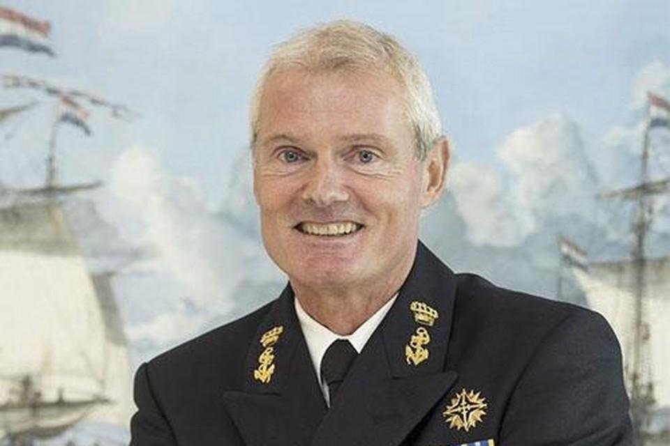 Viceadmiraal Rob Kramer.