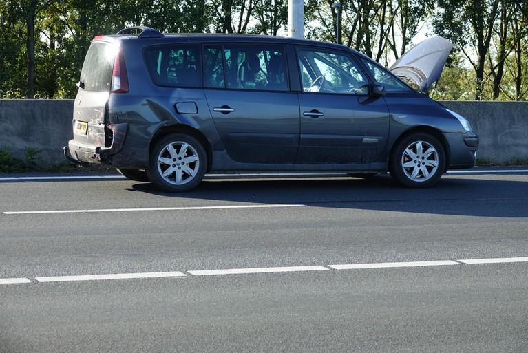 Flinke file op de A7 richting Hoorn na ongelukken