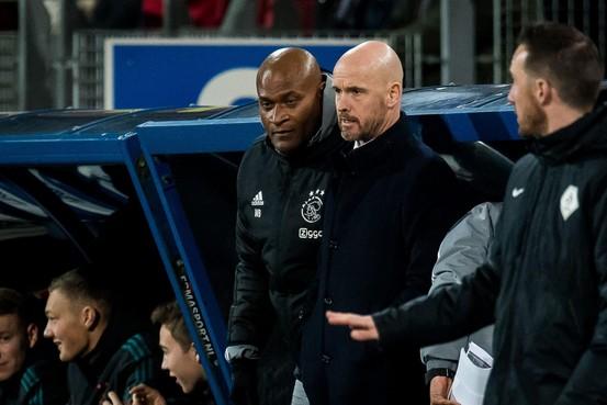 Ten Hag roemt teamgeest van Ajax