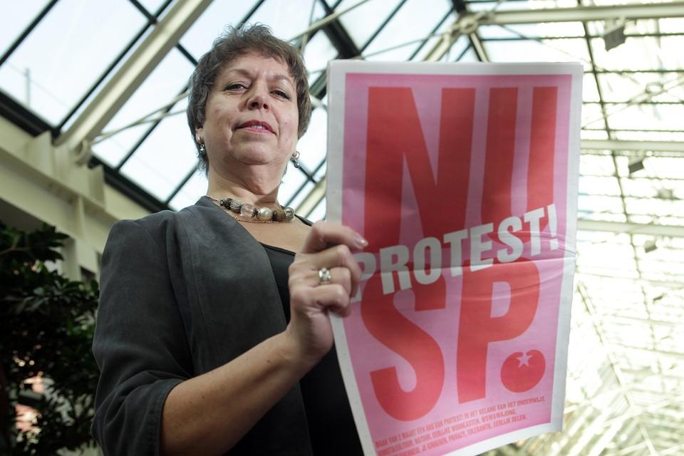 Remine Alberts zit voor de SP in Provinciale Staten van Noord-Holland.