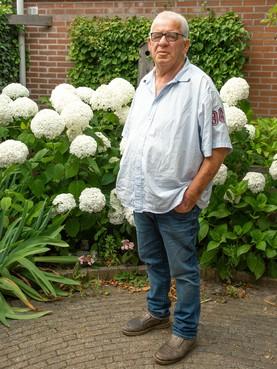 Koninkijk onderscheiden Antoon Kuipers heeft altijd oog voor zijn omgeving