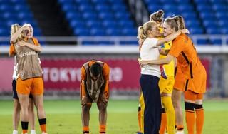 De bittere nederlaag van de Oranje Leeuwinnen betekent ook het afscheid van bondscoach Sarina Wiegman. 'Het was een mooie tijd. Een geweldige tijd'