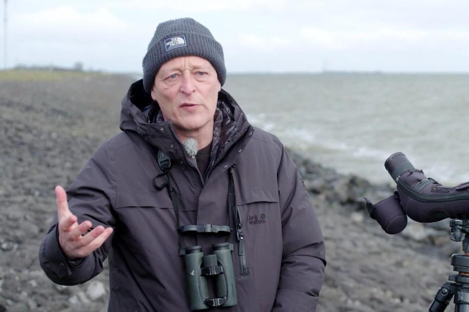 Jan van der Winden: ,,Vogels houden niet van geluid.''