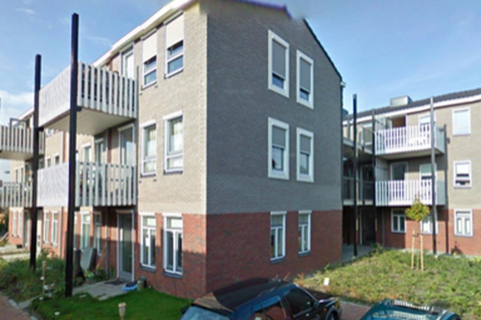 Het appartementencomplex aan de Blokkeel in Sint Pancras.