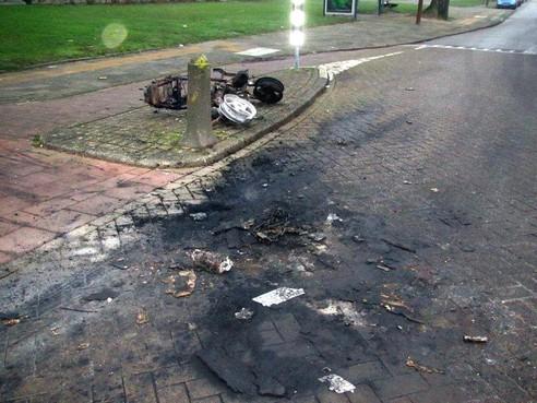 Overdie was het ergst, maar oudejaarsleed trof hele gemeente Alkmaar