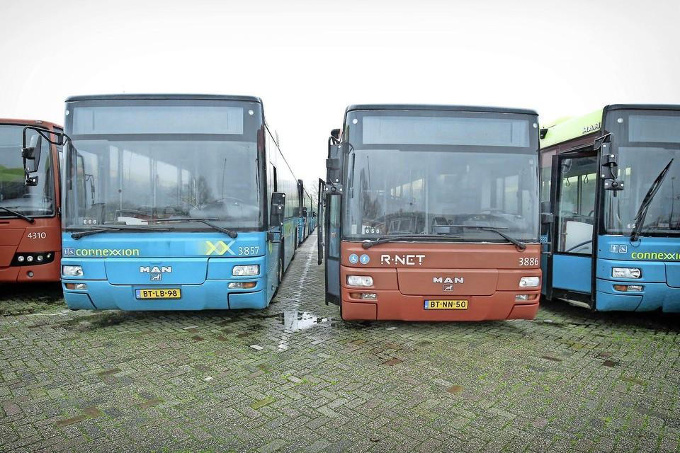 Bussen van Connexxion.
