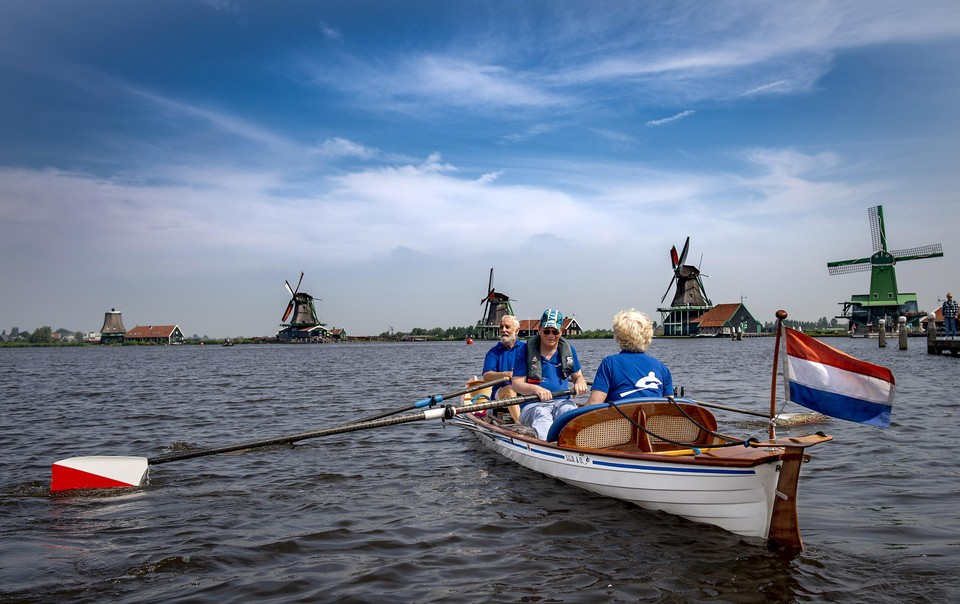 Roeien over het mooiste water van Nederland: de Zaan