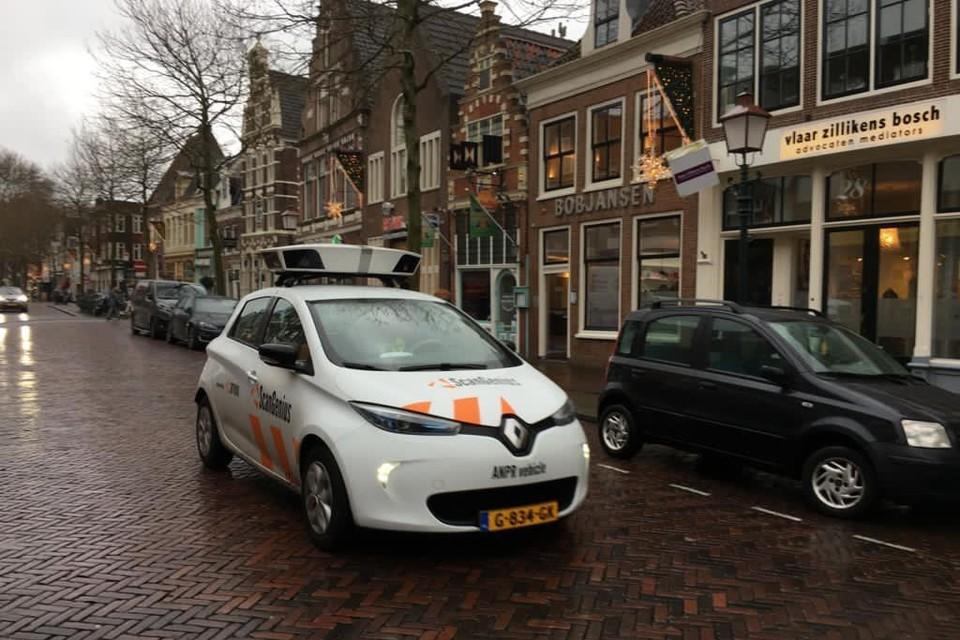 De scanauto van de gemeente Hoorn.
