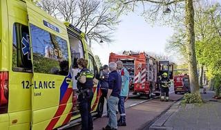 Brandbeveiliger schiet te hulp bij woningbrand in Heemstede: 'ik pakte een paar brandblussers uit de auto en ben naar boven gerend' [video]