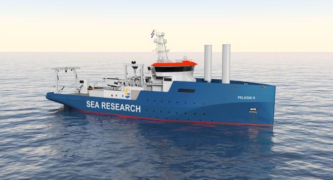 Nieuwe Pelagia kost 80 miljoen - NIOZ op Texel vervangt gehele vloot