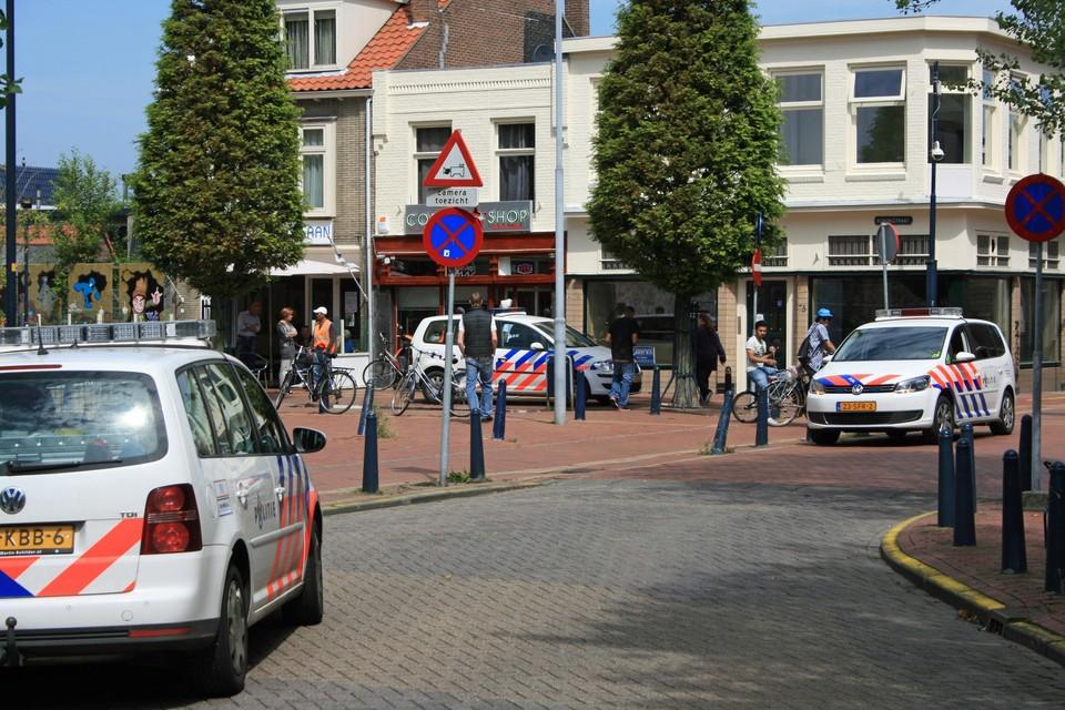 De coffeeshops in de Koningstraat worden medeverantwoordelijk gehouden voor de overlast in die omgeving.