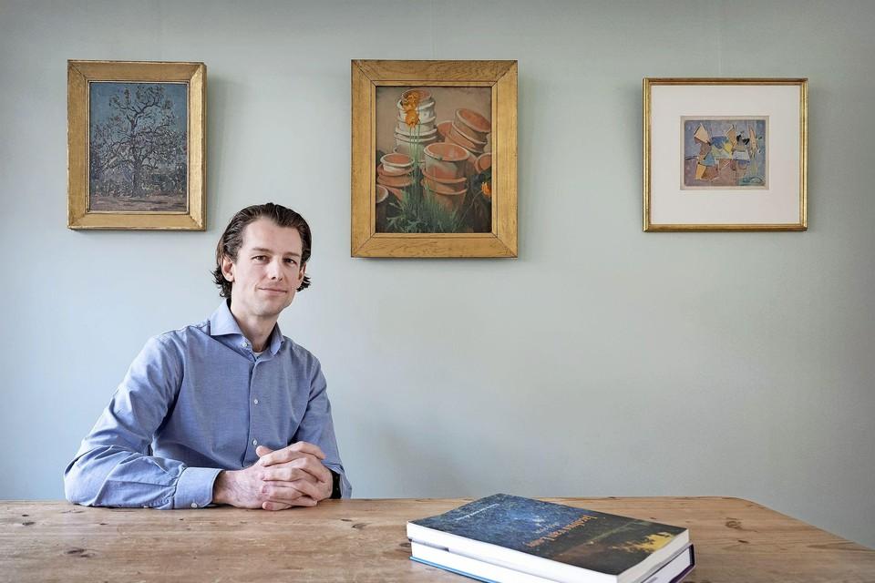 """Floris van der Pant: """"De website is mijn belangrijkste verkoopkanaal, dus die moet goed zijn. Ja, ik ben nogal perfectionistisch."""""""