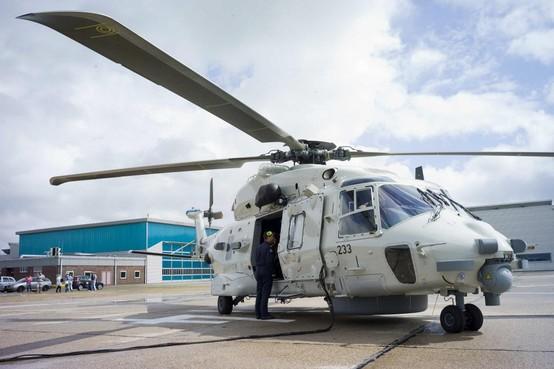 Defensie verhuist NH-90 helikopter naar De Kooy
