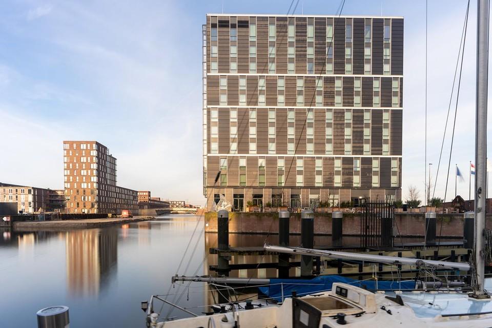 Het Four Elements Hotel Amsterdam op IJburg.