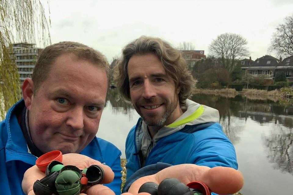 Dirk Groot en Merijn Tinga vinden overal knetterballen.