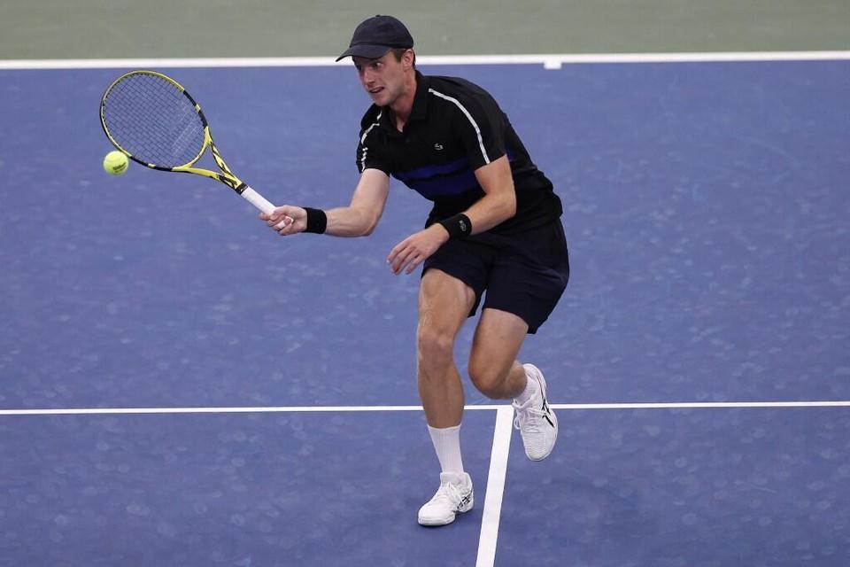 Van de Zandschulp op de US Open.