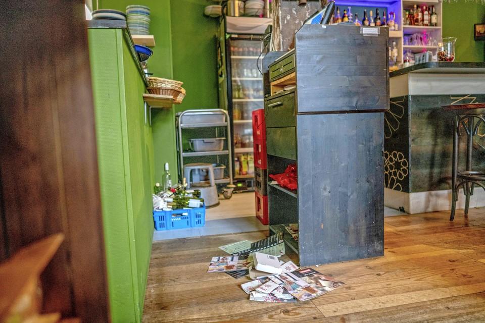 Uit horecazaak Kunst & Kitchen op Willemsoord werd een kluis gestolen.