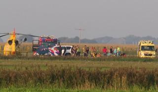 Twee parachutisten gewond bij botsing in de lucht bij Paracentrum Texel [update & video]
