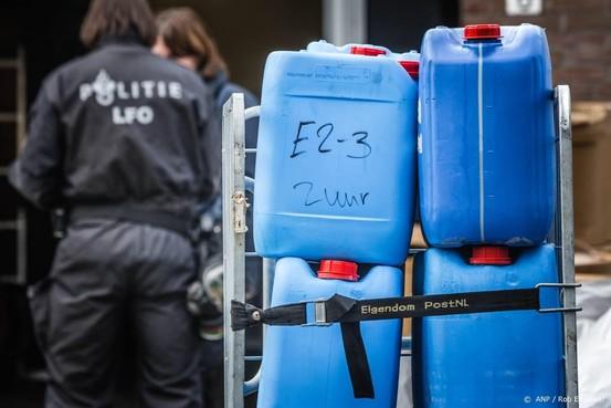 Groot drugslab ontdekt in Liempde