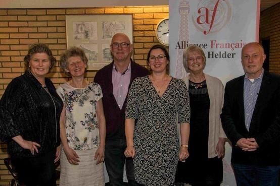 65 jaar Alliance Française in Den Helder: kaasplank in Frankrijk is ook voor andere gasten