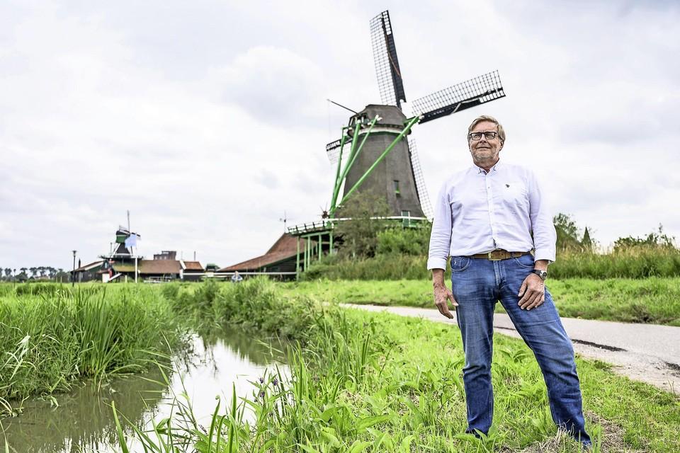 Jan Goedhart is de nieuwe voorzitter van vereniging De Zaansche Molen.