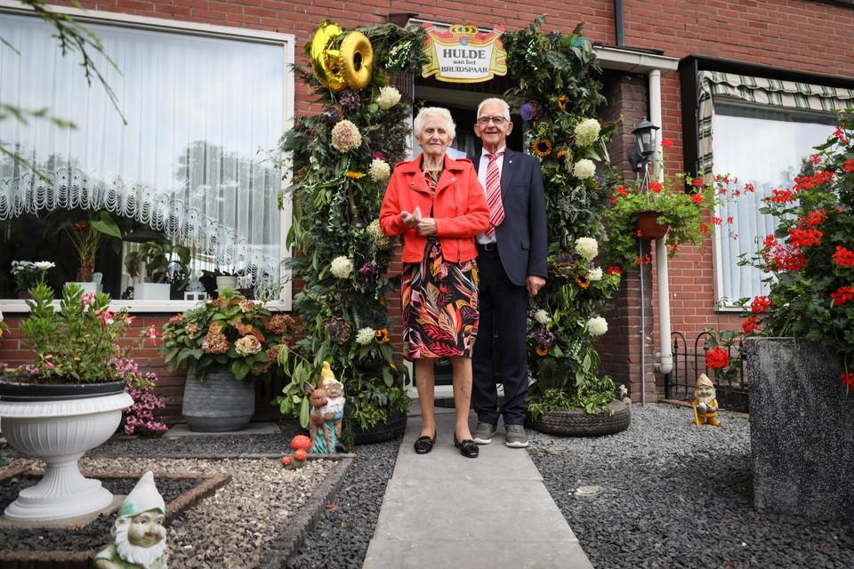 Nico en Truus Smal zijn al 75 jaar samen.