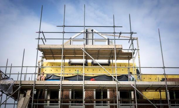Bijna 600 vergunningen minder verstrekt voor nieuwbouwwoningen in Noord-Holland Noord