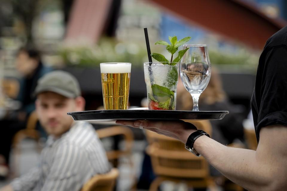 Met of zonder er-code. De drankjes op de terrassen smaakten goed.