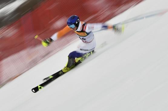 Twee keer goud op de ski's voor Haarlemmer Max van Rossum