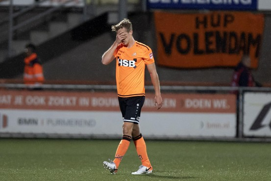 FC Volendam-Cambuur: Spanning al na negentien minuten verdwenen [video]