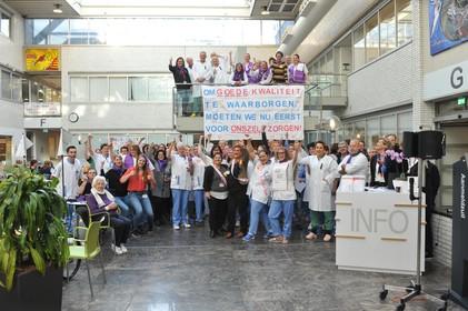Actie In Het Rode Kruis Ziekenhuis Beverwijk Wij Verpleegk