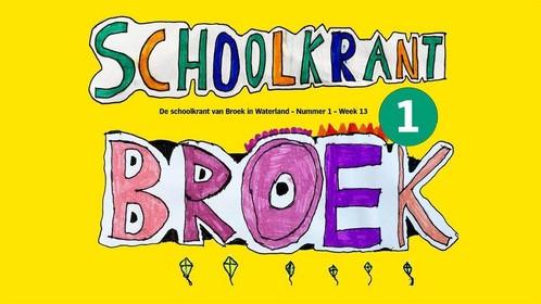 Crisistips en moppen in digitale corona-schoolkrant van De Havenrakkers in Broek in Waterland