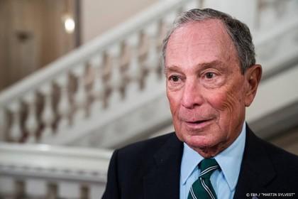 Bloomberg zet stap richting kandidatuur