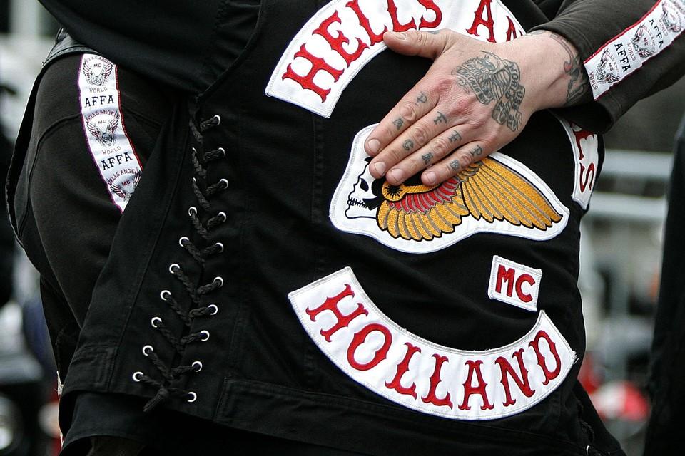 Het embleem van de Hells Angels.