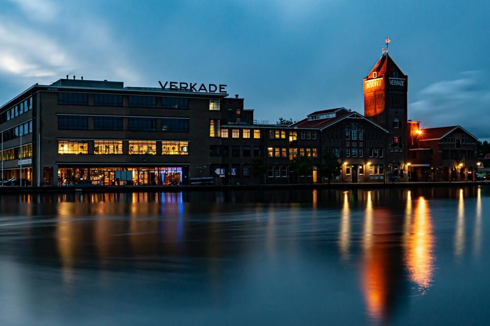 De Verkadefeabriek is het hart van het industriefestival. Deze foto van Ria de Ruyter is daar te zien op een foto-tentoonstelling over de Zaanse industriecultuur.
