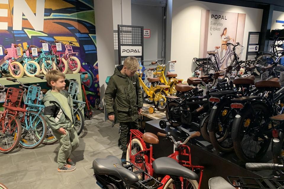 Zoveel fietsen, wat een keus.