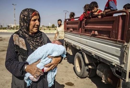 Syrische burgers vluchten massaal [met interactief kaartje]