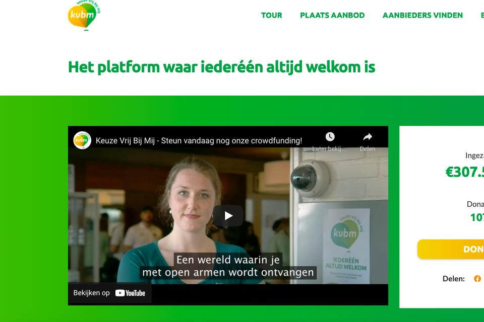 De website keuzevrijbijmij.nl