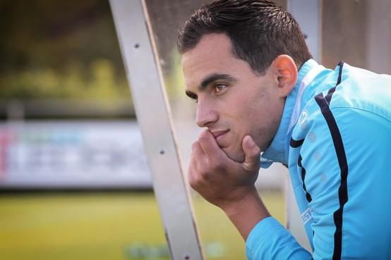 Assendelftse voetbaltrainer Florian Wolf vol ambitie aan de slag bij SJC