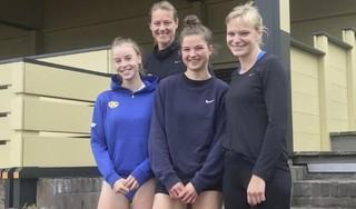 Historisch weekend bij Gooise Atletiek Club: drie atletes over de zes meter