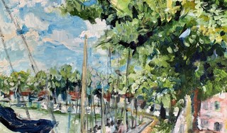 Schilderijen Piet Buijsman bij Huisartsenpraktijk Kaap Hoorn