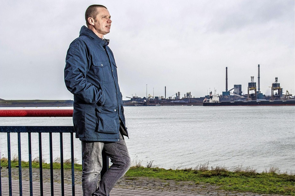 De IJmuidense fotograaf Olaf Kraak.